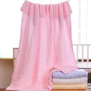 Towels & Robes Infant Super Soft Gauze Bath Towel Born Sleeping Wrap Baby Care Supplies Washcloth