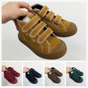 Novesta Star Master Toddler Kids Shoes Designer Boys Girls Canvas Shoes Trainers 8 Colors Hook Loop Children Shoes Size 24-35