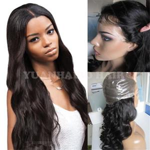 Fashion hot sale 1b mongolian wavy hair 100 human hair silicone full thin skin wig free shipping