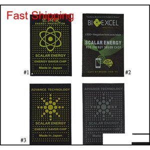 EMR EMF Energie Autocollants Anti Radiation Stickers Pelliculaire Cellule Économie d'énergie Chip Gadgets Protection Quantum Protection Stickers Qyltaq Beauty888