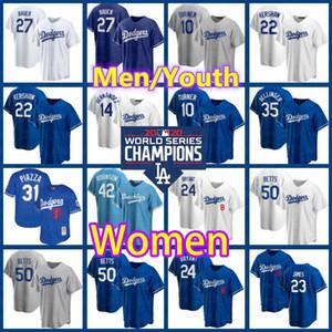 Dodgers Jerseys 50 Mookie Betts 35 Cody Bellinger 5 Corey Seager Clayton Kershaw Los Angeles Men Trevor Bauer Donne A.J. Pollock Youth Sadfsf.