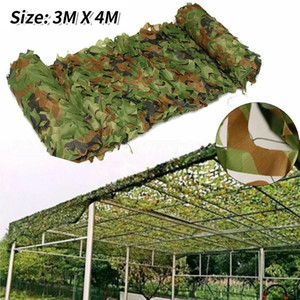 3x4m Chasse Camouflage Nets de camouflage Woodland Camo Camo Couvertures Camping Camping Sun Sheltert Shade Sheter