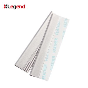 2021 Professional Eyebrows Razor Blades 10 PCS Stainless Steel Dedicated Scraping Eyebrow Shaping Hair Styling Beauty Makeup Shaving Knife