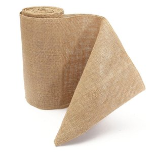 2021 Fashion Burlap Table Runner Wedding Party Supplies Chair Table Decorations Accessories