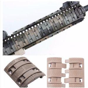 32 pcs lot Tactical Airsoft panels Picatinny rail Handguard cover AR15 M4 AK airsoft handguards Protector Resistant Hunting