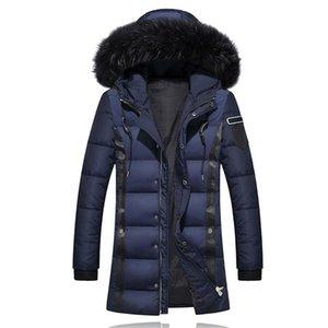 Mens Designer Kleidung Parkas Casual Dicke Warme Reißverschluss Down Herren Mantel Farbe Mode Solide Luxusjacken SFIQK