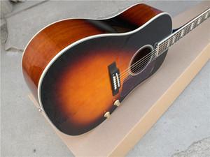 free shipping custom 160 sunburst 41inch acoustic guitar,wooden guitar,steel string guitar,folk guitar,rosewood fretboard