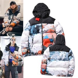 Mens designer down Jackets Parka Womens Letter printing Winter Couples Clothing Coat Outerwear Embroidery Puffer jacket for male size m-2xl