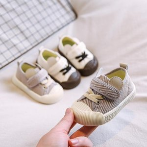 Primavera Autumn New Toddler Ragazzi Ragazze Scarpe casual per 1-3 anni Baby Moda Sneakers Maglia Colore solido