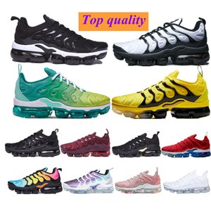 2021 tn run Shoes classic women designers Black White Sport Shock plus Sneakers 39-45