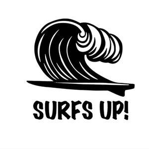 16*15.6CM surfs up leisure sports surfboard car vinyl sticker CA-2000