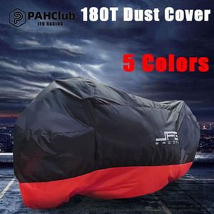 JFG Racing 5 Colors Motorcycle Rain Cover Waterproof All Weather Breathable UV Protection Snowproof Dustproof Universal(M L XL XXL XXXL)