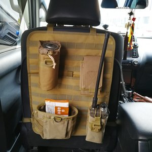 seat back MOLLE hanging multifunctional storage bag Tactical vehicle pad