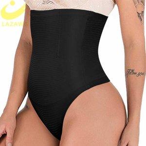 Lazawg бесшовные приклада подъемник животик Peopewear Thong underwear трусики невидимое управление набитым набивающим корпусом