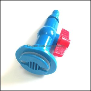 Air Pumps Aessories Aquariums Pet Home & Gardenbkhead Durable Aquarium Pipe Connector Drain Adapter With Outlet Fish Tank Threaded Plumbing