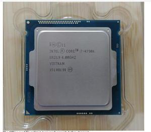 100% Genuine Intel Core I7 4790 4790K 4.0GHz Quad-Core 8MB Cache com HD Gráfico 4600 TDP 88W Desktop LGA 1150 processador de CPU usado testado