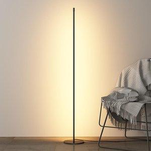Floor Lamps Modern Minimalism LED Lamp Living Room Bedroom Decor Lights Lighting Stand Kitchen Fixtures