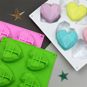 Love Silicone Molds Moldes De Silicona Ice Cube Mold Three-Dimensional Soap Mould Baking Supplies Kitchen Utensils Accessories ZC015