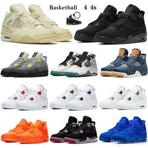 4s negro gato invierno 2020 Zapatos para hombre del baloncesto lo que el gris fresco Bred Deportes zapatilla de deporte de setas entrenadores atléticos 36-45