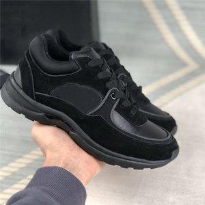 2021 Top Qualité Hiver Casual Chaussures Hommes Femmes Augmenter la plate-forme Chaussure Vintage Sneaker Sneaker Sneaker Calfskin Sneakers avec boîte