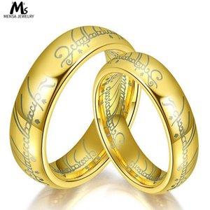 Влюбленные из нержавеющей стали владелец кольца титановые стальные кольца король ювелирных изделий