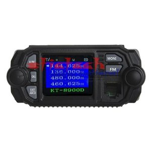 Walkie Talkie By Dhl Or Ems 5pcs KT-8900D 25W Vehicle Mounted Two Way Radio Upgrade KT-8900 Mini Mobile With Quad Band Large LCD