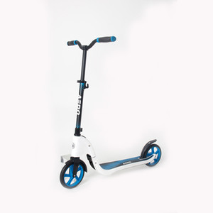 Aero Fold Two 200mm Big Wheels Aluminum Offroad Kick Scooter For Adult C6