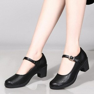 EILLYSEVENS Dropshipping 2020 Sandalias nuevas Sandalias Verano Hecho a mano Damas Zapatos Sandalias de piel Sandalias SÓLIDAS MUJERES PISOS DE PISOS # G4 U02G #