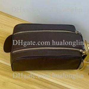 Women Handbag Purse Cosmetic Wash Bag woman serial number flower checker grid fashion classic