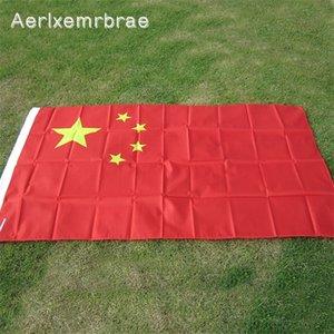 Frete grátis aerlxemrbrae bandeira nova 90 * 150cm pendurado china bandeira chinesa bandeira nacional bandeira ao ar livre decoração home indoor y0105