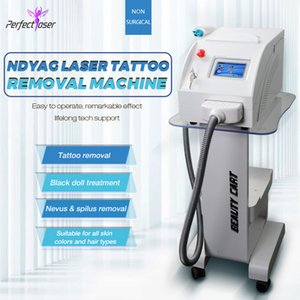 Portable 2000MJ 3 Köpfe Q Switched ND YAG Laser Tattoo-Entfernungsmaschine Pigment-Augenbraue-Entfernung 1320nm1064nm532nm ND YAG Tattoo-Entfernung