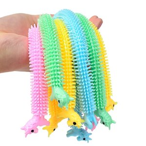 Squeeze Animal Fidget Noodle Vent Rope Stress Reliever Toys centipede Caterpillar Dog unicorn Decompression Pull Ropes Anxiety Toys H388PUX