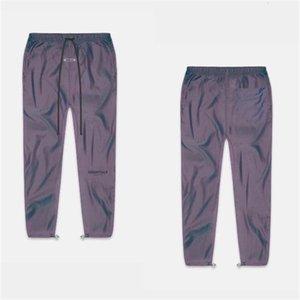 2021 New Fog Sweatpants Uomo Donna 1: 1 Migliore Qualità Mezza Zipper Colorata Ribbon Essentials Pantaloni Pantaloni YWTD