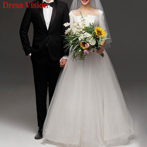 2021 Wedding Es Bestidos Vestidos Novia Suknia Lubna Vestido Fiesta De Boda Gxlj