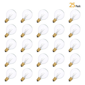 2021 New Ip44 G40 Tungsten Incandescent Globe Titular Lamp Securities Package Base E12 25 for Marriage Light Party at House Hot White 1ccf