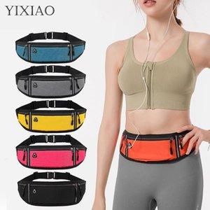Outdoor Bags Sports Fitness Hold Phone Waist Bag Running Hidden Waterproof Fanny Pack Men Women Cycling Jogging Belt