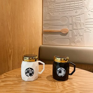 New top selling starbucks cup Nordic marble Creative Coffee mugs Personalized Sublimation Mug Ceramic 400ml Teacup