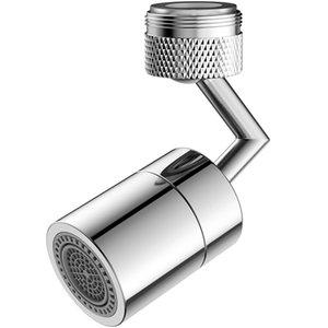 Kitchen Bathroom Stainless Steel 360 Degrees Rotation Universal Splash Water Filter Faucet