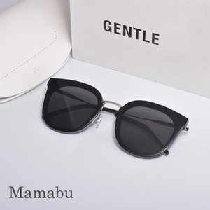 Sunglasses Acetate And Alloy Vintage GM Glasses Men Women Gentle Mamabu Flat Lens Rimless Square Frame Sun