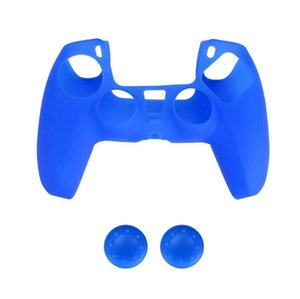 4 Colors Soft Protective Cover Silicone Case Skin for Playstation 5 PS5 controller Gamepad