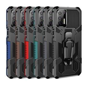Titular do carro Montagem Magnetic Cinter Capas para Motorola Moto G Play 2021 Power G9 Plus Stylus One Fusion E7 Cover com Kickstand