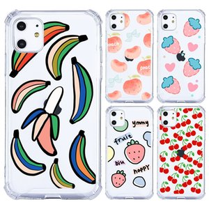 Slim Fruit Pineapple Phone Case For iPhone 11 Pro Max XS Max XR XS X 8 7 6 Plus Soft TPU Back Cover