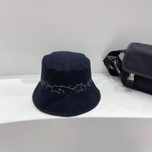 High-end custom quality hat embroidery star ribbon! The style of leisure and fashion! Custom cotton fabric. Super permeability