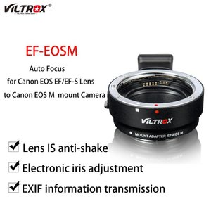 Lens Adapters & Mounts Viltrox EF-EOSM Auto Focus Adapter Ring Electronic For EOS EF EF-S To M EF-M Camera M2 M3 M5 M6 M10 M50 M100