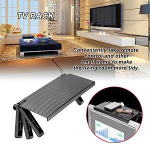 شاشة العلبة الشاشة الأعلى الرف التلفزيون التحكم عن منظم المعيشة رفوف التخزين أعلى الرف التلفزيون إشارة تخزين الرف 2