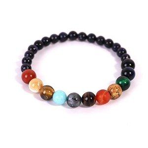 Beaded, Strands KAPLAN CENTER Bracelet Couples Yoga Beads Bracelets For Men Women Elastic Rope Good Luck Jewelry