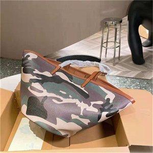 Персонализированные сумки для покупок 2021 дамы роскошь качественные сумки сумки сумки сумки сумки кошелька камуфляж образец цвета подходящие высококачественные моды все-матч дизайн