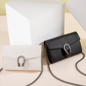 women 2021 new fashion hand wallet advanced chain small Pu women's Bag