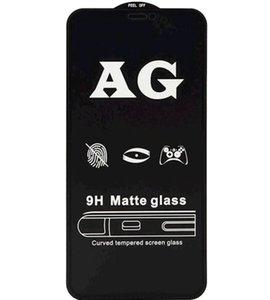 AG Glass in vetro temperato per Samsung Galaxy A10 A20 A30 A40 A50 A60 A70 A40 A40 A51 A71 A91 9H Copertura full Anti-Fingerprint Film