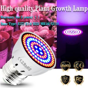 Phyto Led Spotlights Lamp Bulbs Indoor B22 Grow Light for Flowers Plant Seeds Growing E27 MR16 Phytolamp Full Spectrum E14 GU10